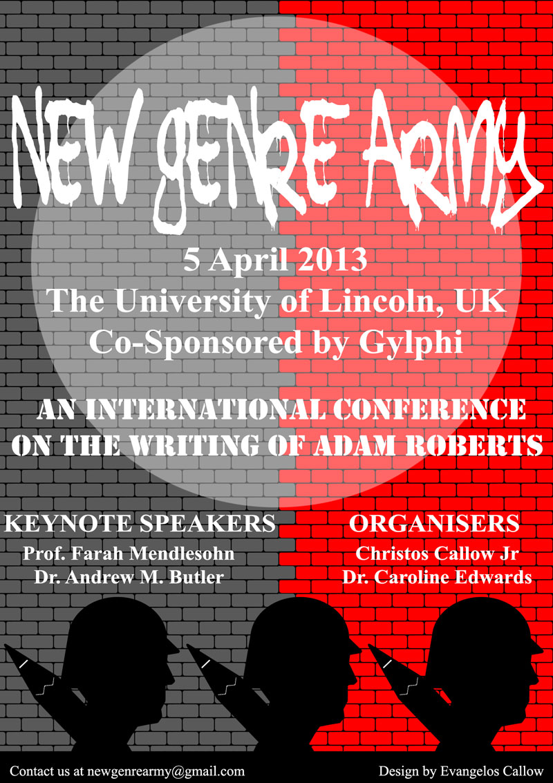 New Genre Army: An International Conference on the Writing of Adam Roberts